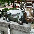 天滿宮御神牛
