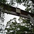 八阪神社的鳥居