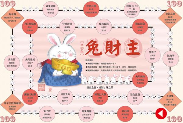 兔年圖文遊戲
