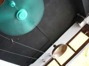 復古電風扇和燈