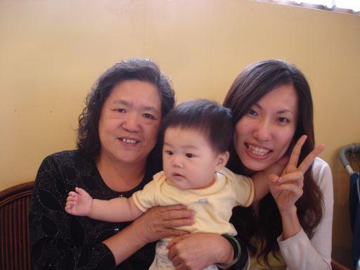 奶奶和姑姑