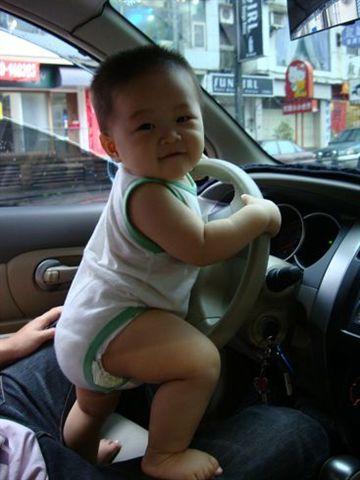 不知為何很喜歡開車
