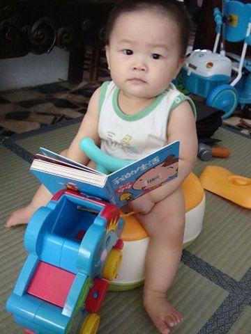 媽媽說看書會順暢