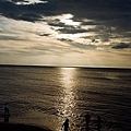三芝海邊夕陽