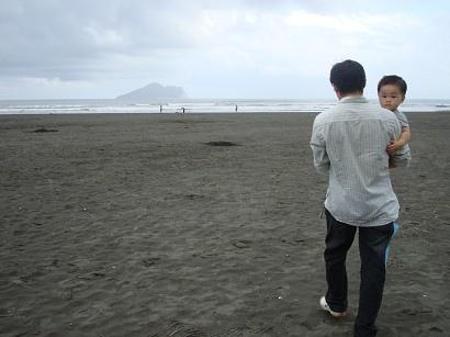 遠方的龜山島