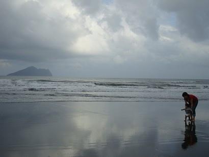 看到海也不怕