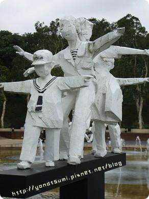 兒童醫術區的雕像