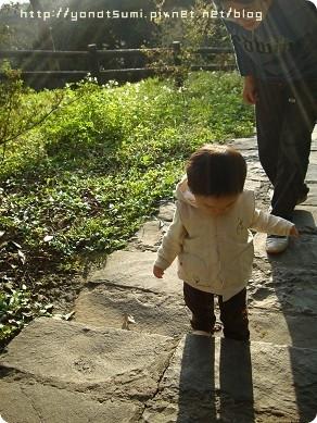 我喜歡看我兒子走路