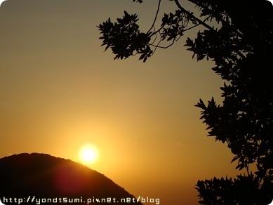 老公拍的夕陽