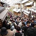 下次在也不想在櫻花開的假日來京都了
