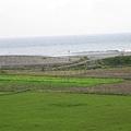近處有田,遠處有海