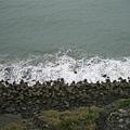 消波塊也變成海岸不可缺的風景了....