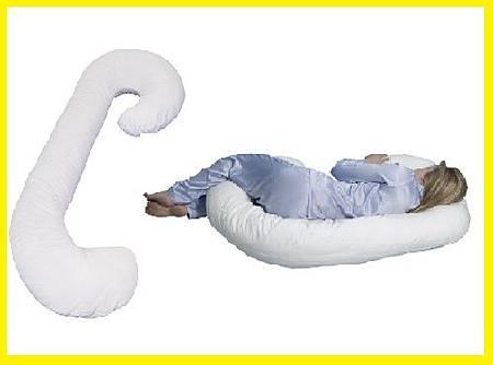 孕期好物推薦 6色可選 代購美國snoogle Leachco Total Body Pillow 孕婦專用抱枕