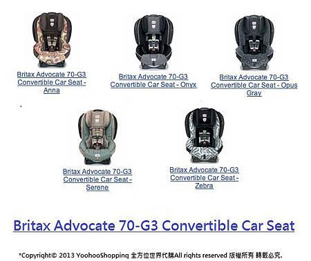 Britax Advocate 70-G3
