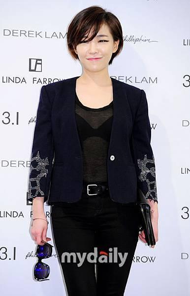 韓國時尚短髮女星代表