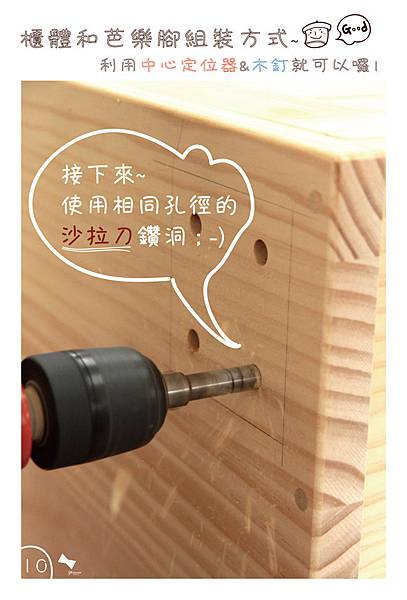 中心定位器&木釘使用