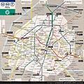 法國地鐵圖 清晰完整版