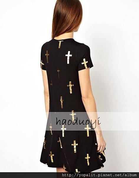 淘寶燙金十字架2