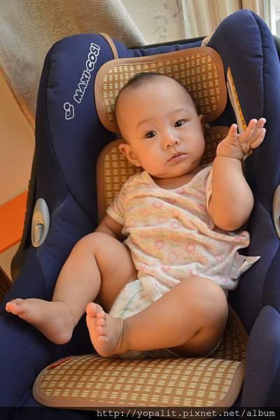 嬰兒推車涼墊-mammyshop柔藤墊