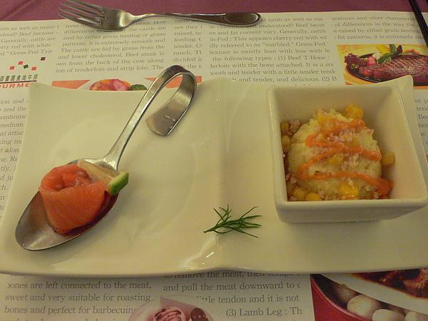 鮭魚洋芋沙拉