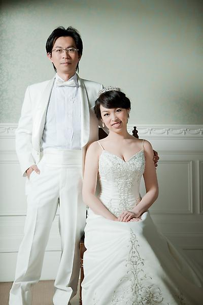 伊莉莎白婚紗照