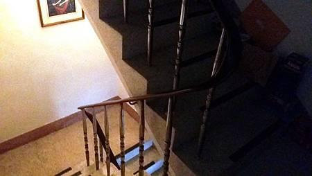 樓梯扶手-before