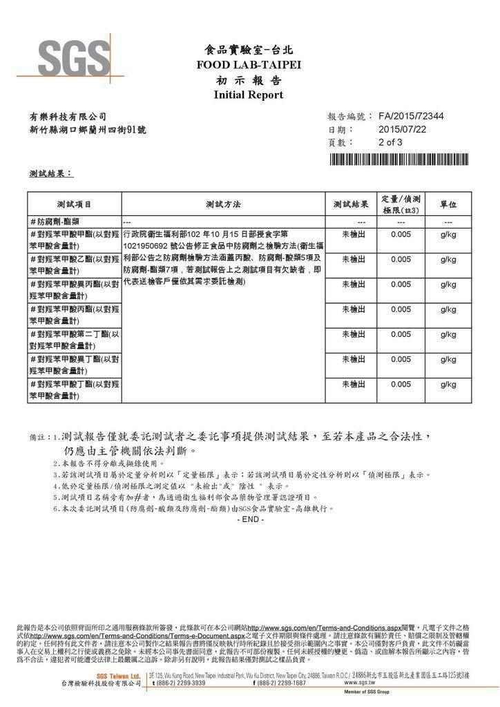 ULove重金屬檢驗2
