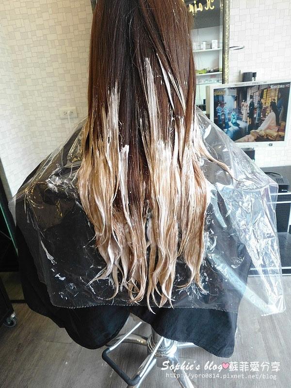 漂髮完成-台中染髮推薦