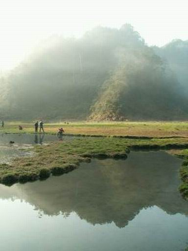 美美的松蘿湖