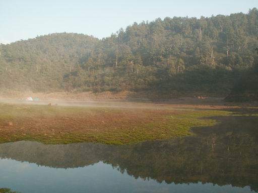 多麼清澈的松蘿湖