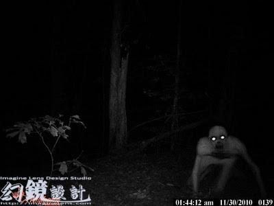 無毛殭屍 - 美國男子半夜打獵遇無毛殭屍【組圖】1
