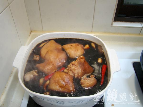 食譜教學-陳年老滷汁滷豬耳朵做法與保存方法