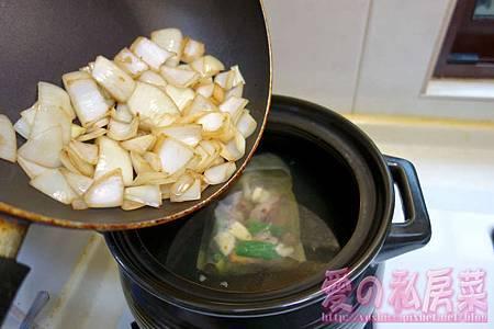 清燉牛肉湯料理教學017