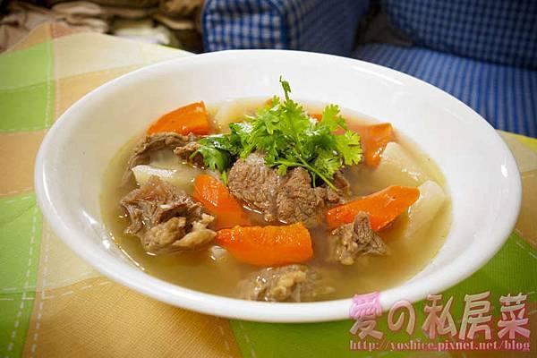 清燉牛肉湯料理教學025