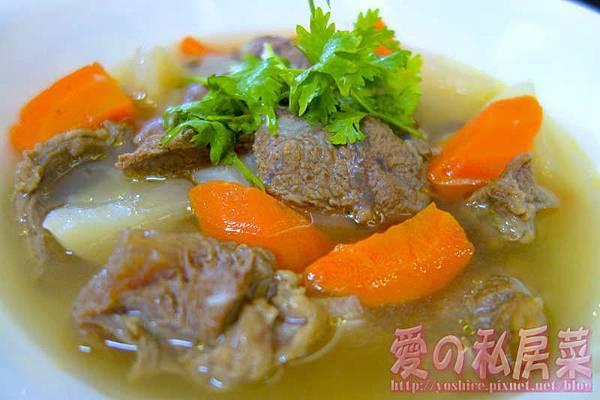 清燉牛肉湯料理教學028