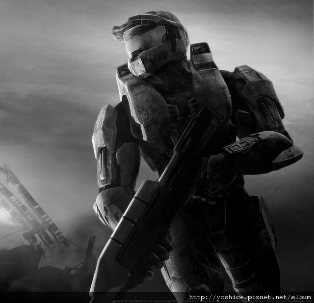 寫實練習-Halo最後一戰-黑白.jpg