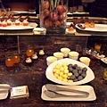 晶英酒店自助餐的甜點