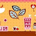 2009/11/21 紅格子裝扮
