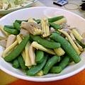 青豆袖珍菇玉米筍