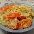 蕃茄洋蔥炒蛋