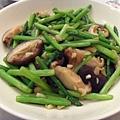 蘆筍炒香菇