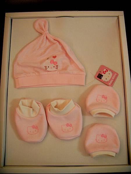 HELLO KITTY帽子、手套、襪子