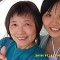 和媽媽的自拍