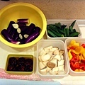 2010/11/24 很多種顏色的蔬菜