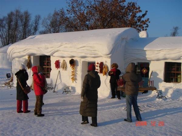 這才是真的雪屋