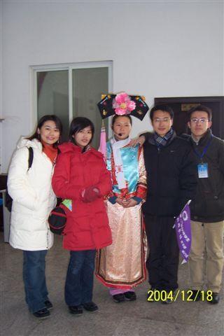 滿族文化館的解說員
