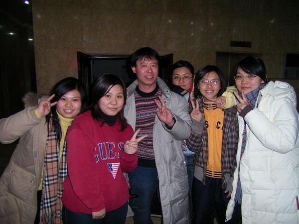 孟穎以及天津的同學