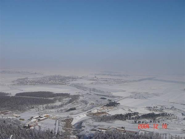 一望無際的雪景..伊通縣