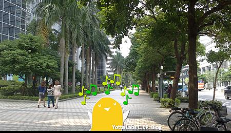 億霈實習 園區吃飽散步去