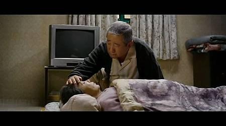 爺爺疼惜的摸了摸奶奶